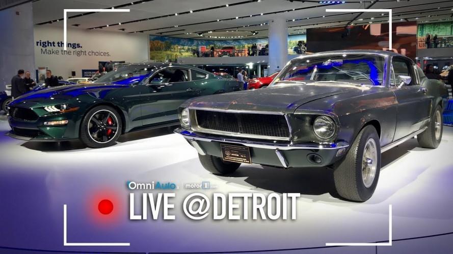 Ford Mustang Bullitt, il suond dei V8 anni '60