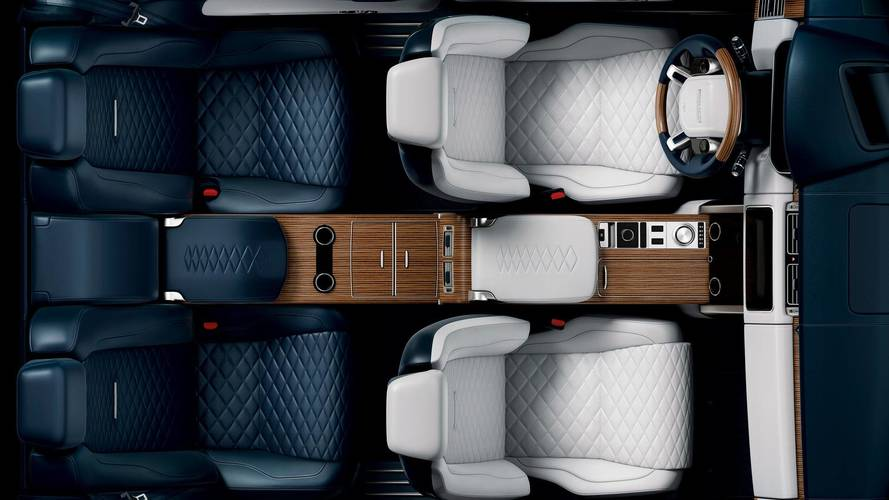 Land Rover Range Rover SV Coupe's Stylish Cabin Teased