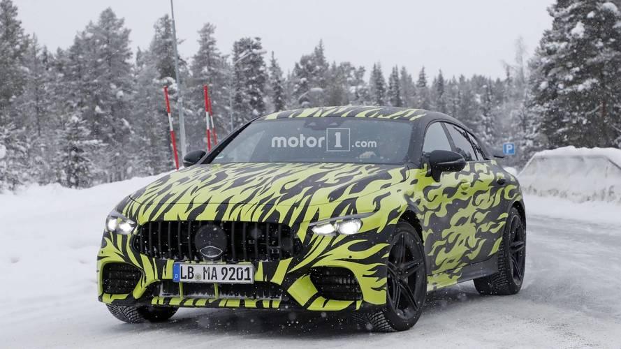 Mercedes-AMG GT Berline encore camouflée