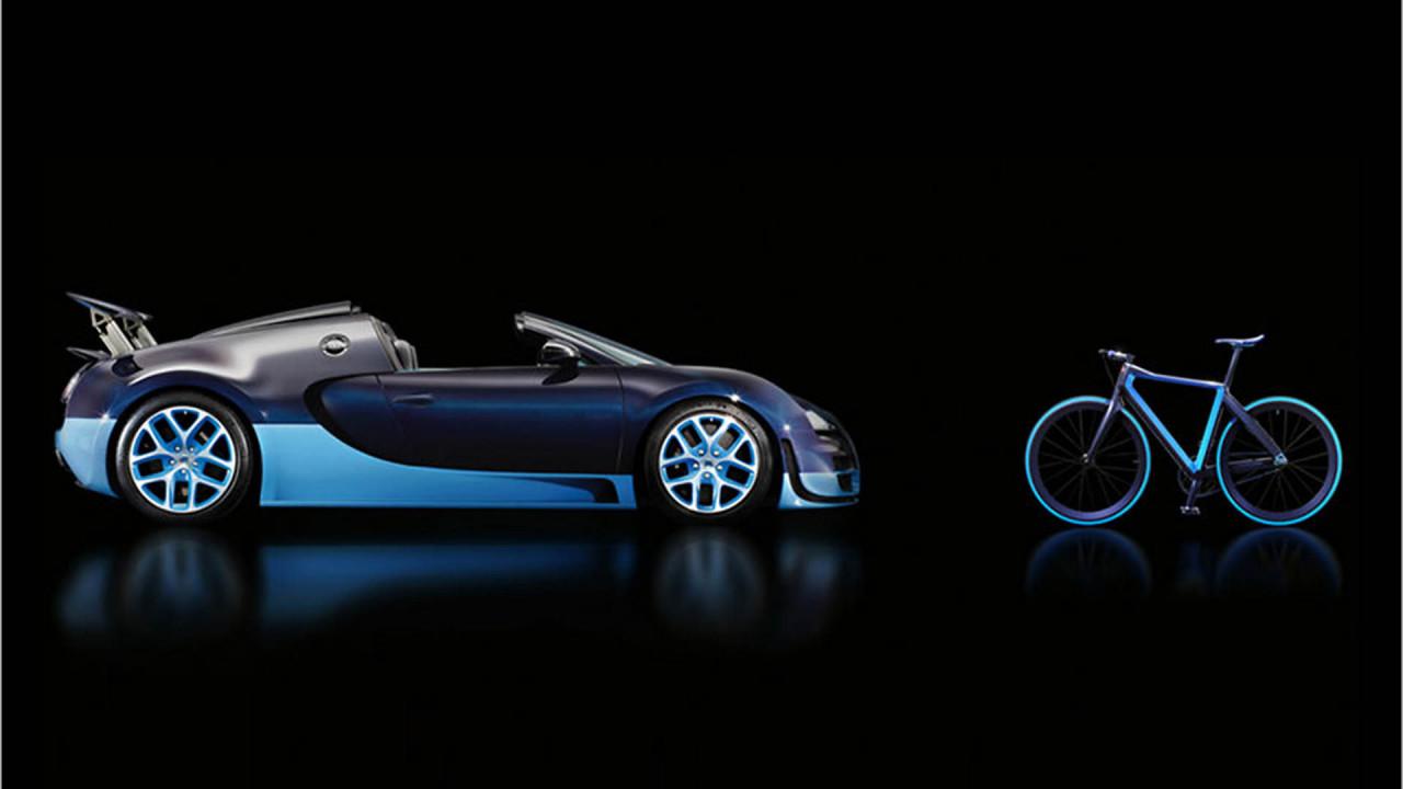 Bugatti Chiron: Urban Bike