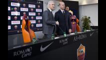 L'accordo tra Nissan e AS Roma a Trigoria