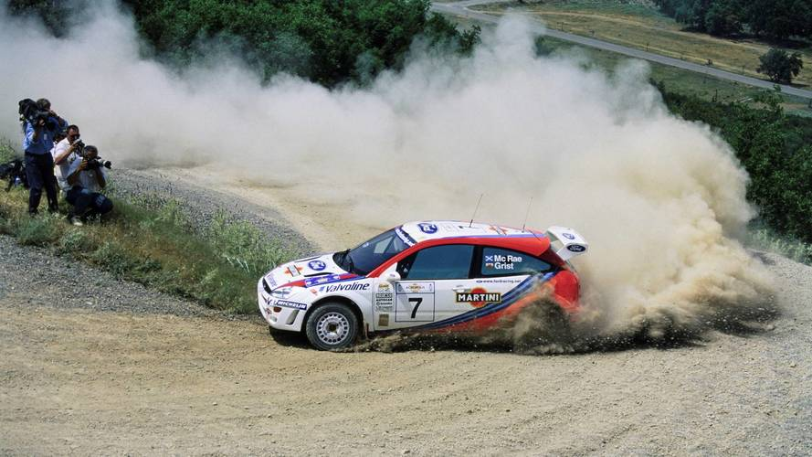 Ex-Colin McRae Ford Focus WRC heads to auction