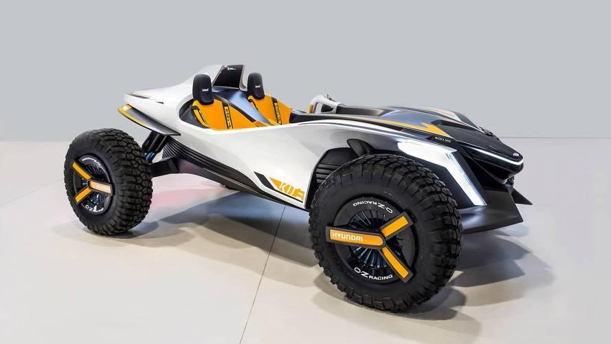 Hyundai Kite, un prototipo de buggy eléctrico