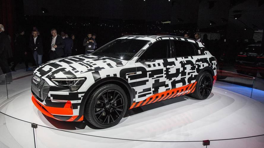Audi e-Tron SUV prototipi Cenevre'de