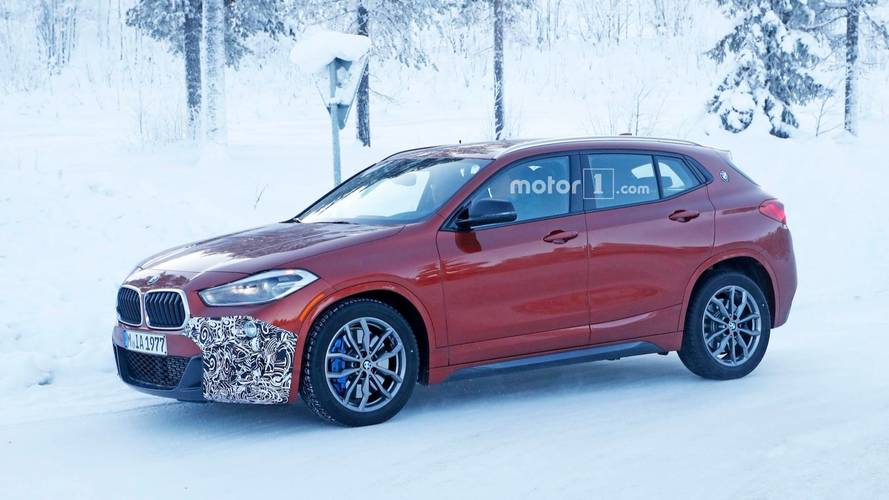 More Powerful BMW X2 M35i Caught Almost Completely Undisguised