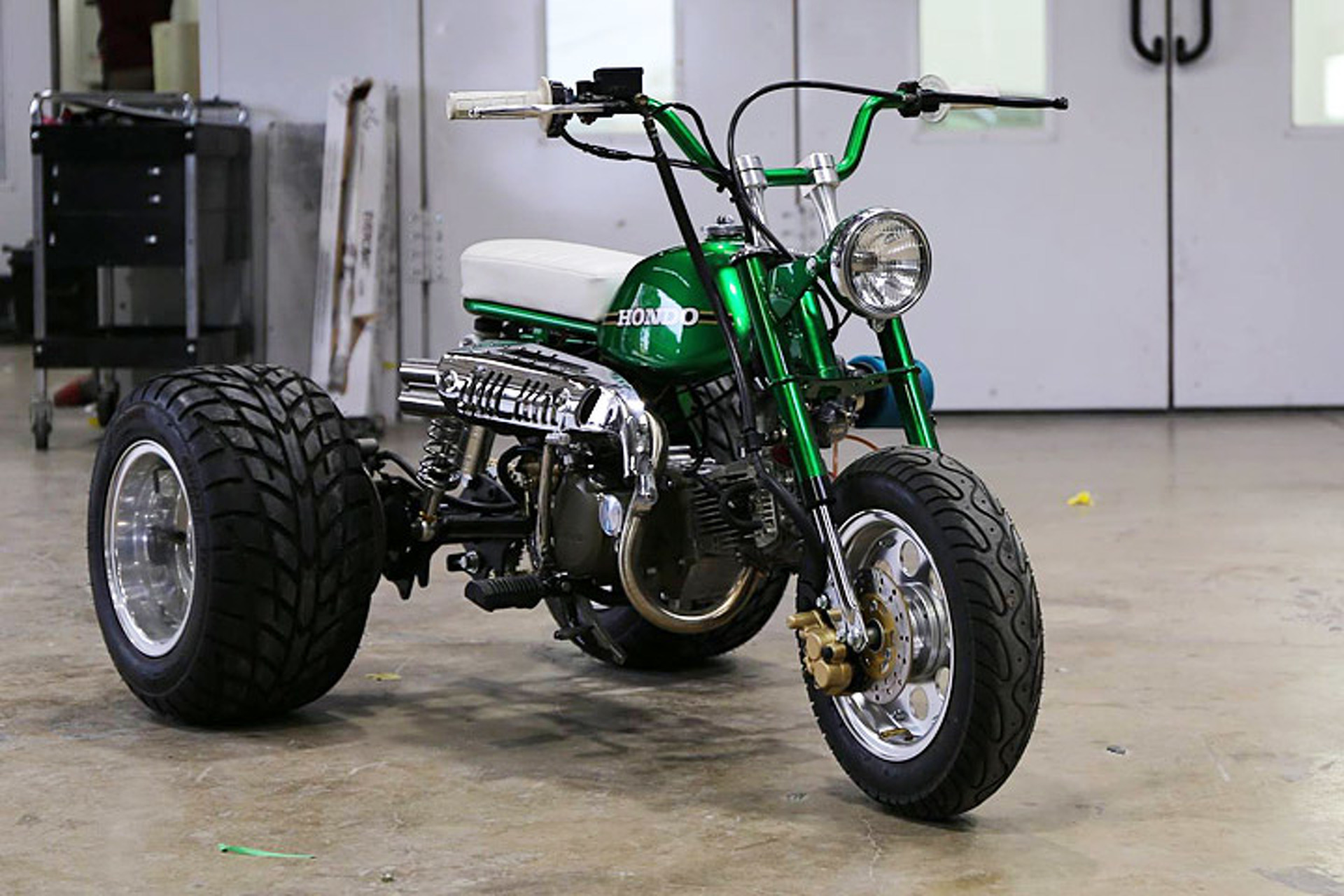 Gas Monkey Garage s Mean Green ldquo HONDO rdquo Trike is Up for Sale