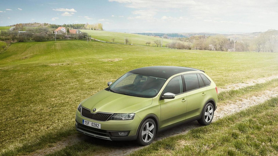 Skoda Rapid Spaceback gains slightly rugged ScoutLine version