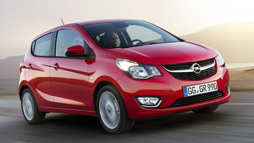 Opel Karl ecoFLEX introduced with an engine start/stop system