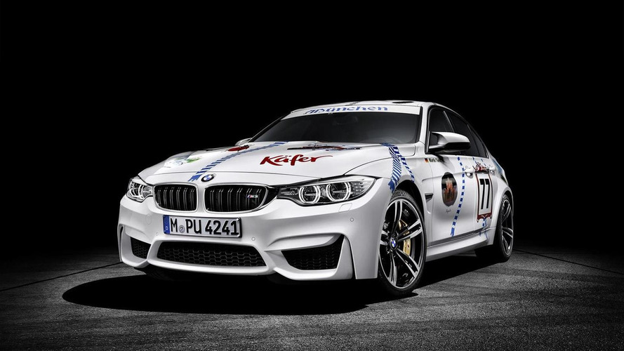 BMW celebrates 2015 Oktoberfest with one-off M3 Münchner Wirte [video]