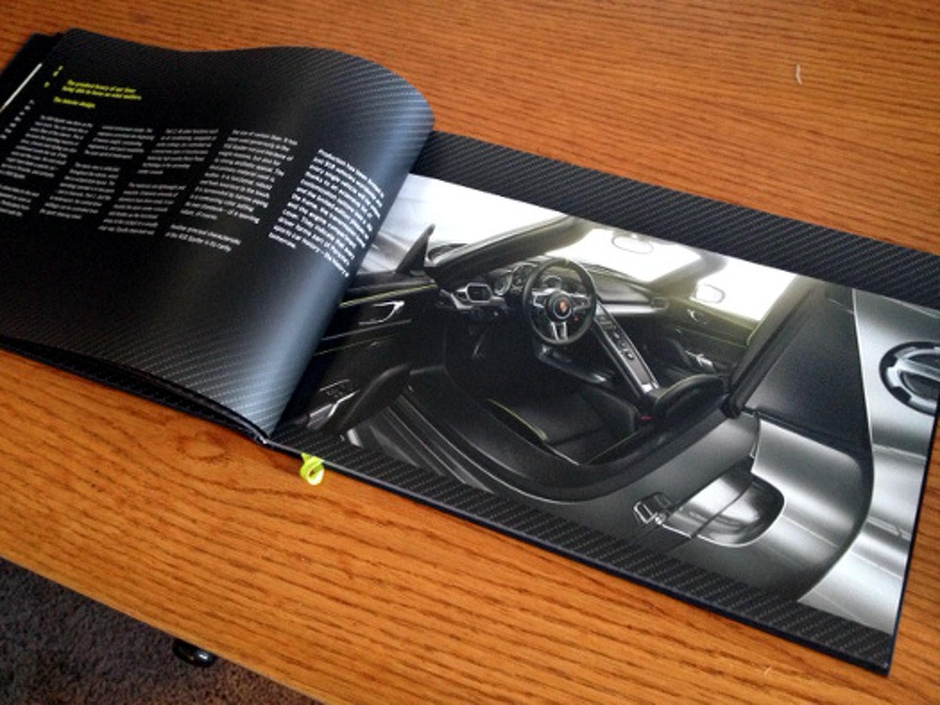 Unboxed: The Porsche 918 Spyder Buyer's Brochure