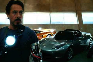 A Closer Look at the Cars in Iron Man's Garage