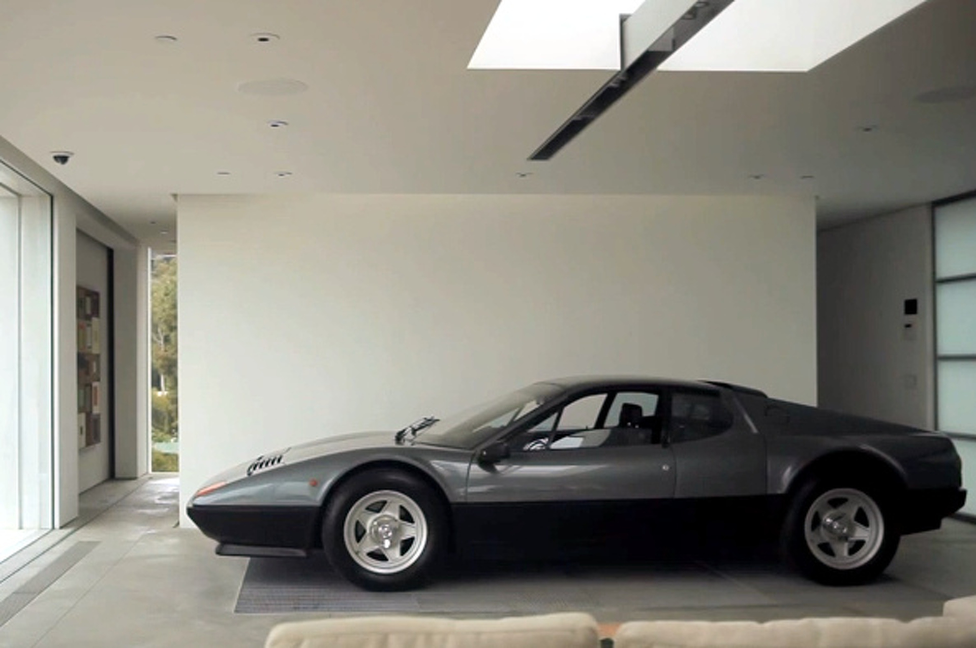 Man Builds House Around His Ferrari [video]
