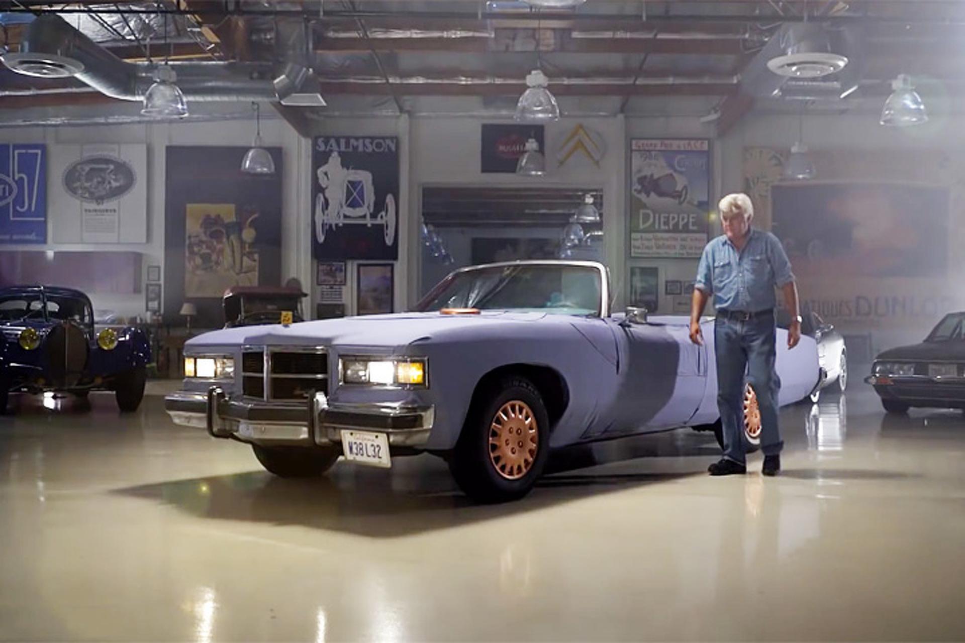 Oh Yes, Jay Leno Drives a Denim Car