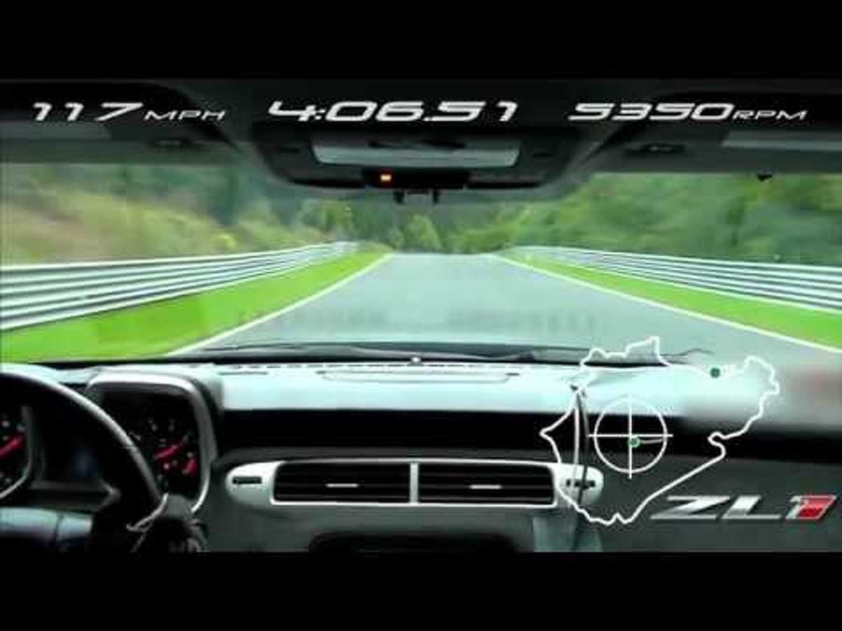 2012 Camaro ZL1 - Nurburgring Track