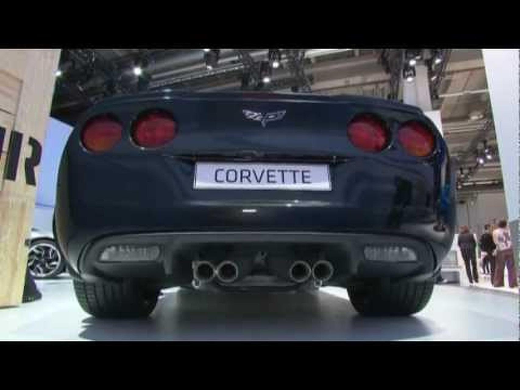 Chevrolet Centennial Edition Corvette Z06 - 2011 Frankfurt Motor Show Video