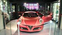 Alfa Romeo 4C Concept Spotted in Paris