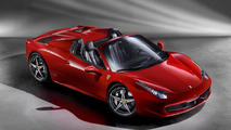 Ferrari 458 Spider European and U.S. prices announced