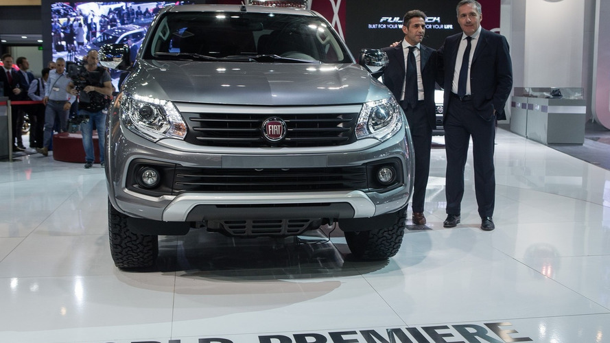 Fiat Fullback pickup truck debuts in Dubai as rebadged Mitsubishi L200