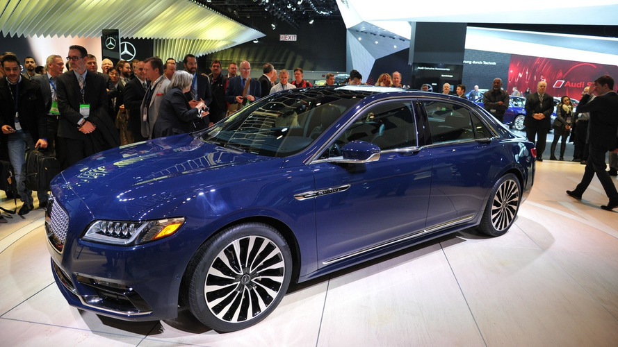 2017 Lincoln Continental ready for production with 400-hp biturbo V6 [LIVE PICS]
