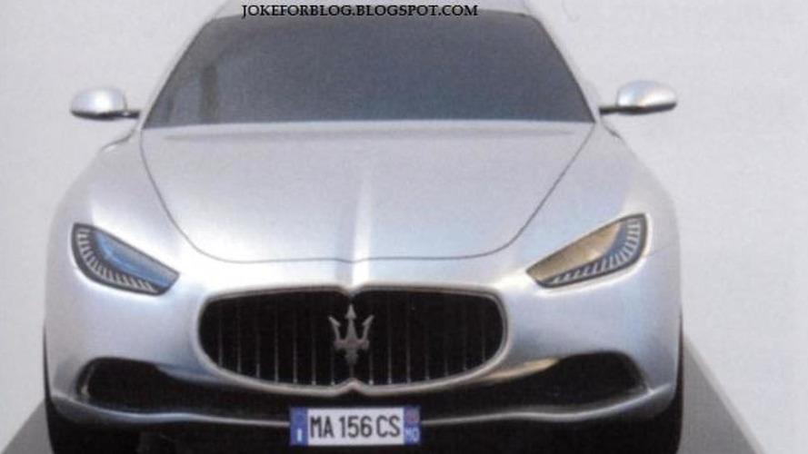 Maserati Ghibli design mockup leaked?