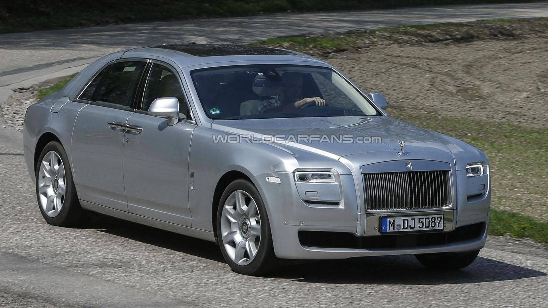 Rolls Royce Ghost Facelift Spied For The First Time