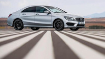 Mercedes-Benz CLA with AMG pack leaked photo