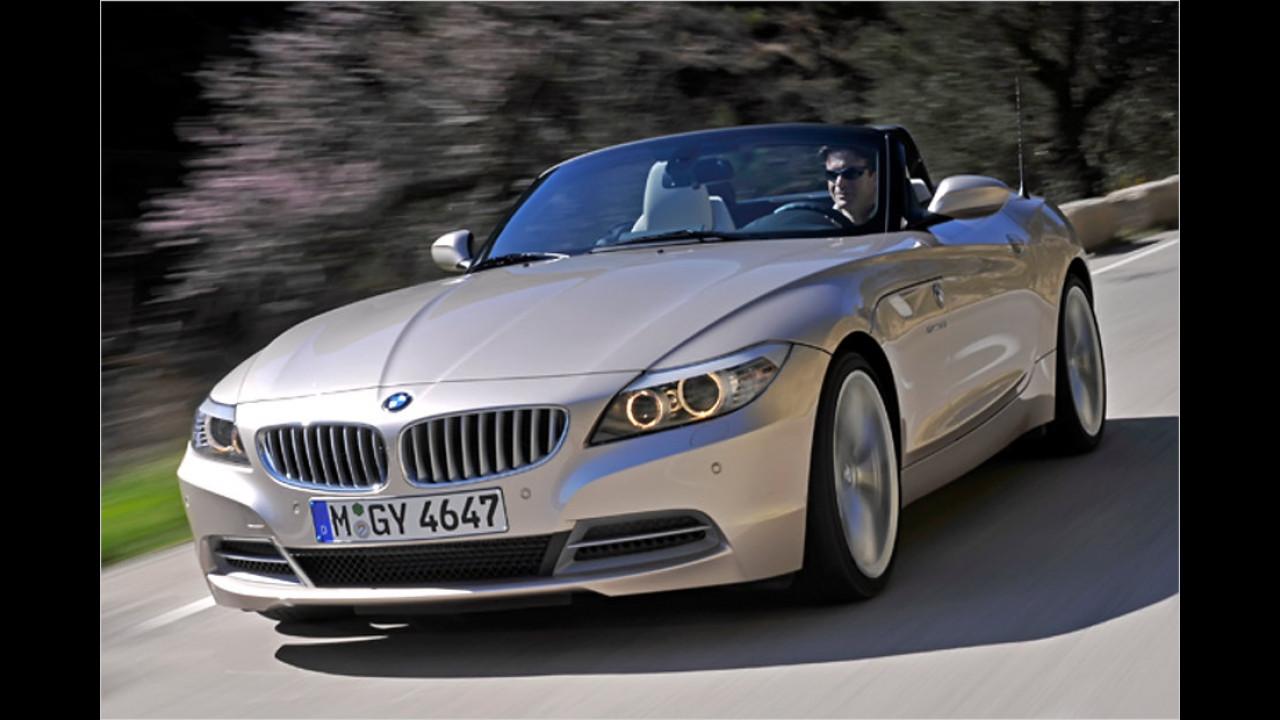 Sportwagen/Cabrio, 50.001 bis 100.000 Kilometer: BMW Z4 (2009)