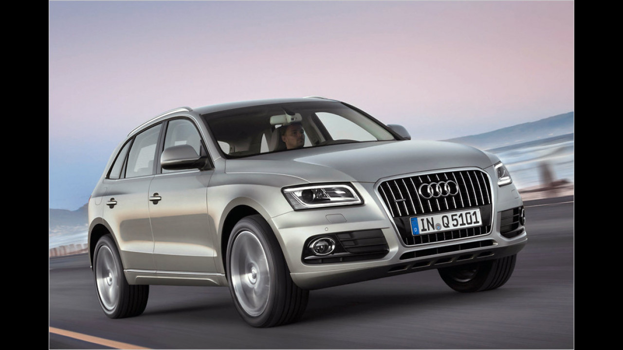 Audi Q5 erhält Facelift