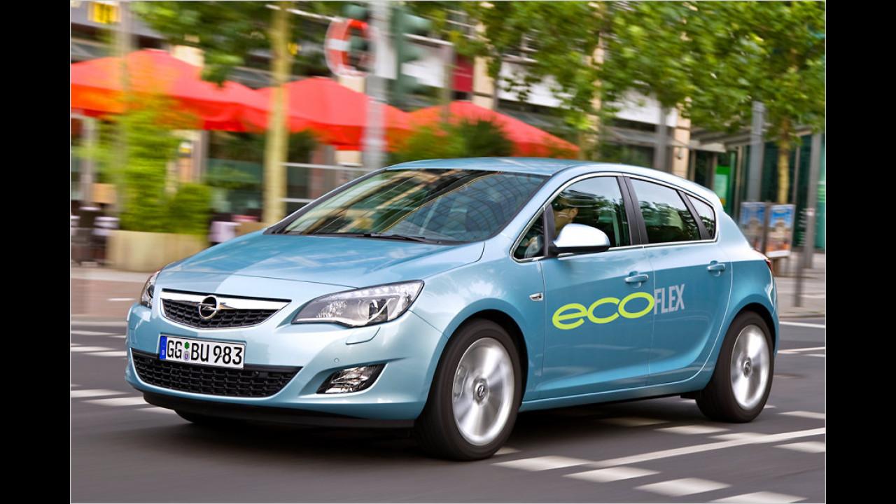 Kompaktwagen: Opel Astra 1.7 CDTI ecoFlex Start&Stop