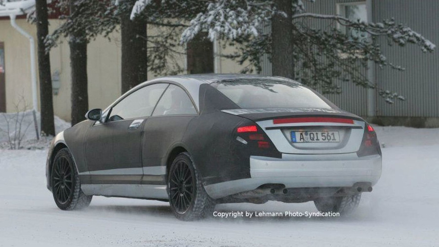 Next Generation Mercedes CL AMG Spy Photos
