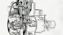 BMW Isetta 250 engine