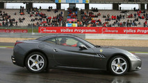 Schumacher Drives Ferrari California at Nurburgring Festival