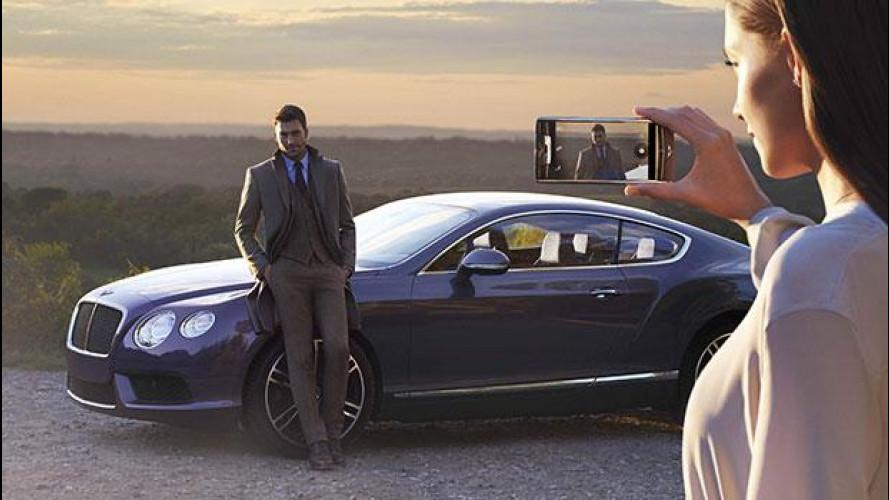 Vertu Bentley, lo smartphone