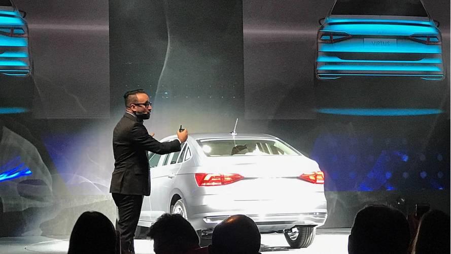 Volkswagen Virtus 2018 - Apresentação mundial