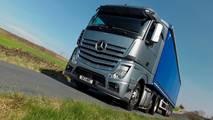 Mercedes lorry Actros HGV
