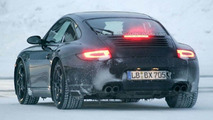 2009 Porsche 997 Facelift spy photo