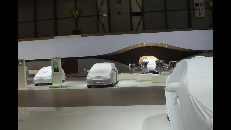 Salone di Ginevra 2009: lavori in corso
