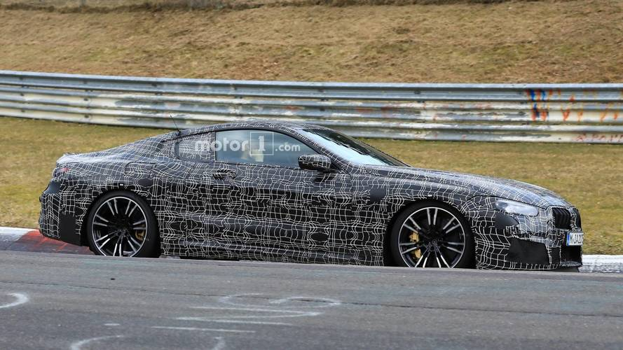 BMW M8 Coupe Caught At The 'Ring Hiding Sensuous Production Body