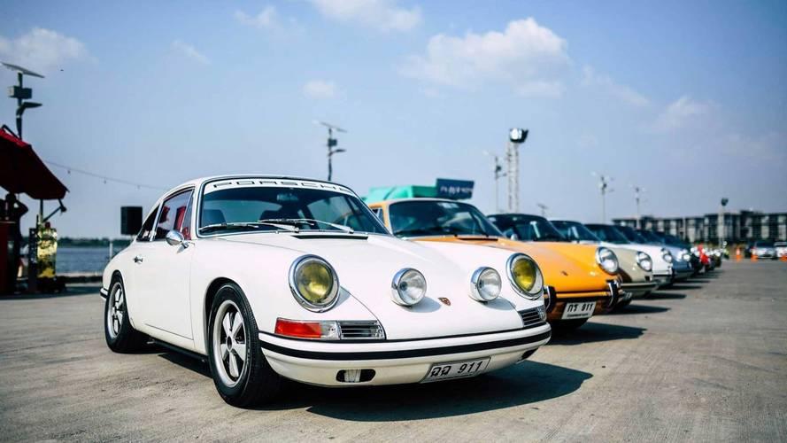 Biggest Ever Porsche Gathering In Thailand Looks Like 911 Heaven