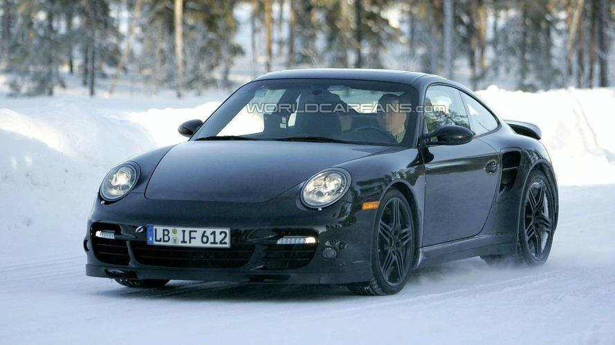 Porsche 911 Turbo Facelift Almost Undisguised