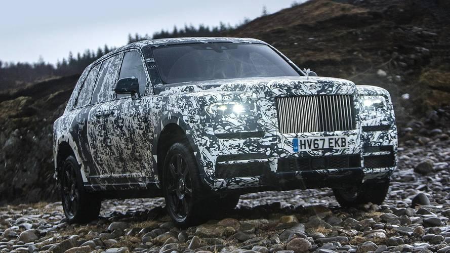Rolls-Royce Cullinan testlerine National Geographic desteği