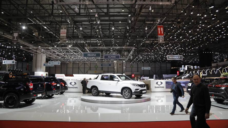 SsangYong Musso Euro Spec at the 2018 Geneva Motor Show