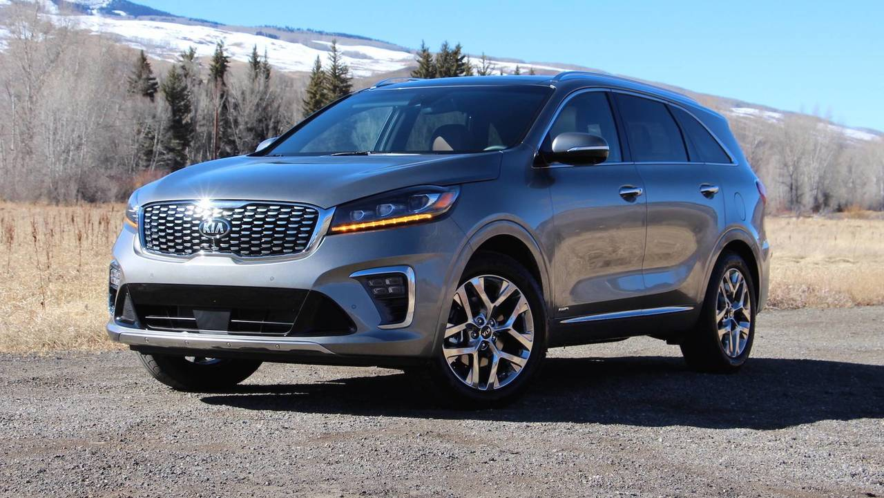2019 kia sorento first drive a perfectly fine refresh. Black Bedroom Furniture Sets. Home Design Ideas