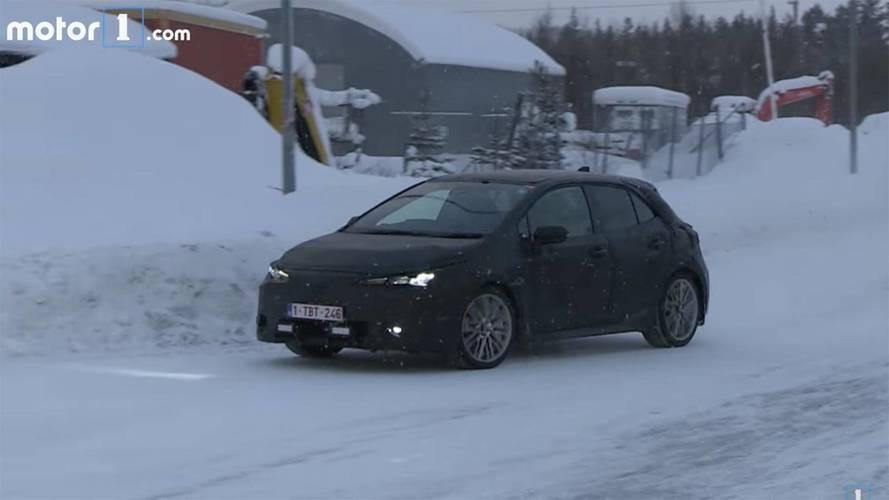2019 Toyota Auris soğuk hava testinde yakalandı