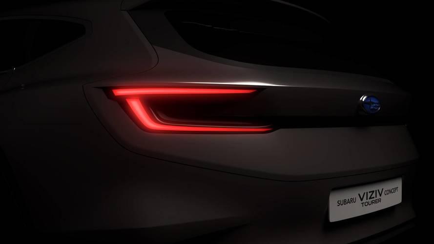 Subaru Viziv Concept Tourer teaser