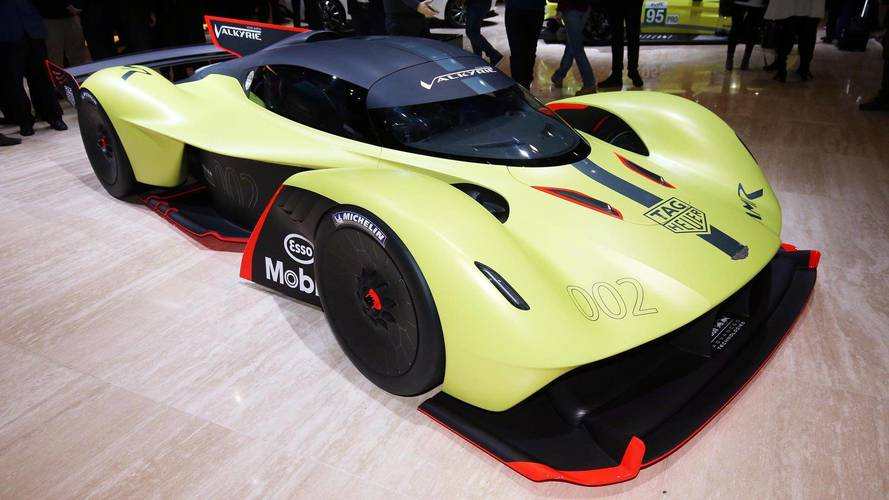 Aston Martin Valkyrie AMR Pro Packs 1,100 HP Of Hybrid Fury