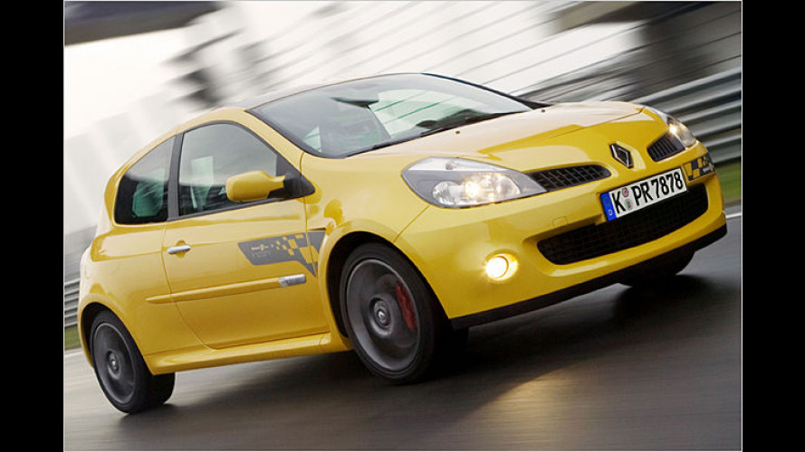 Formel-Fahrspaß: Renault Clio Renault Sport F1-Team R27