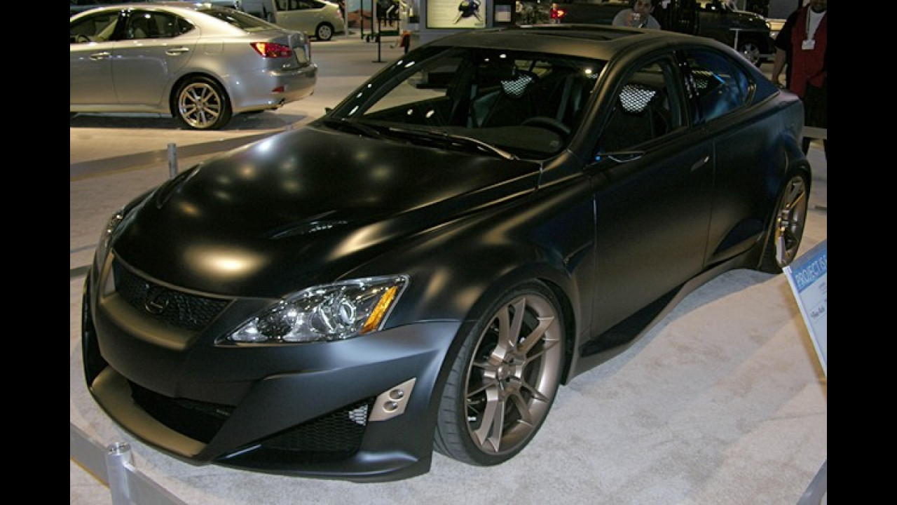 Lexus Project IS-F Five Axis