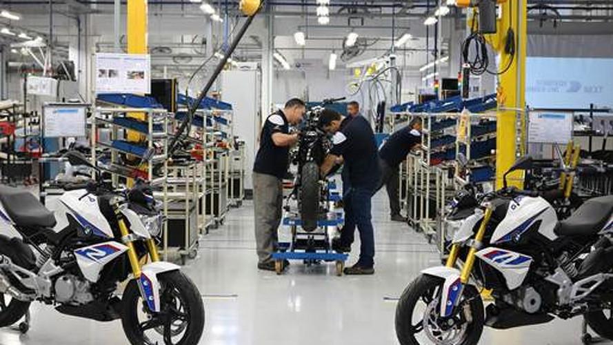 Produção de motos cresce 16,7% no 1º semestre