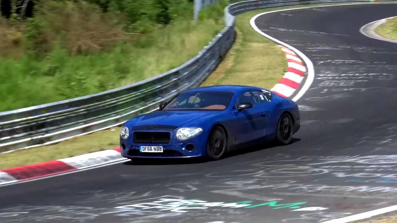 Bentley Continental GT Spy Video